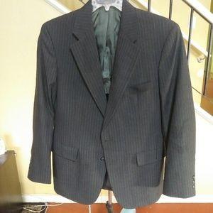 Palm Beach Dark Grey Pin Stripe Suit Jacket Blazer